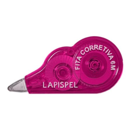 Fita Corretiva 5mm 6 Metros Rosa Lapispel 802415