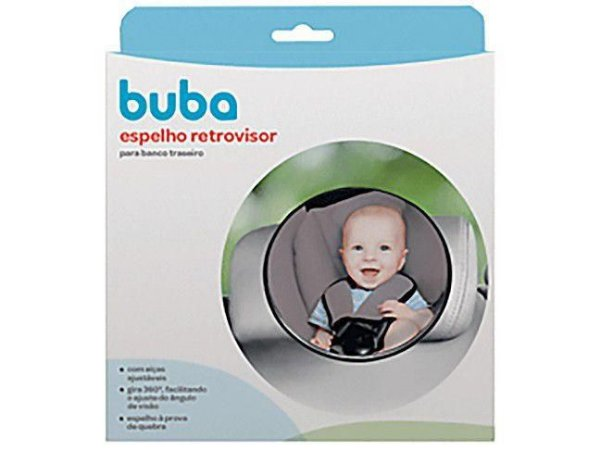 Espelho Retrovisor Bebê para Banco Traseiro Buba - Baby