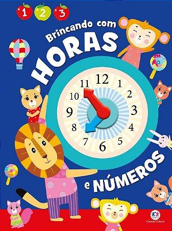 Livro - Brincando com horas e números
