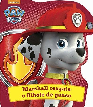 Livro - Patrulha Canina - Marshall resgata o filhote de ganso