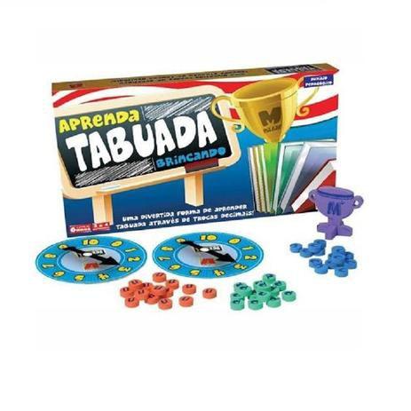 Jogo Aprenda Tabuada Brincando - Algazarra