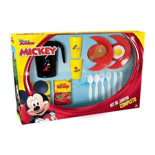 Kit Jantar Completo Mickey