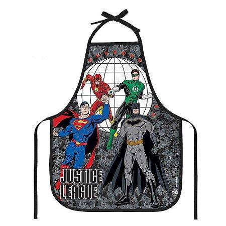 Avental Plástico Escolar 39cmx49cm DAC Justice League