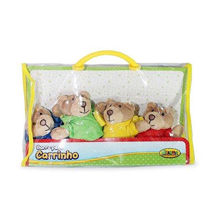 Móbile para Carrinho Em Pelúcia Brinquedos - Coloria