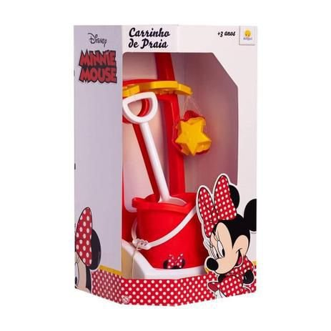 Carrinho Praia Minnie - Angels Toys