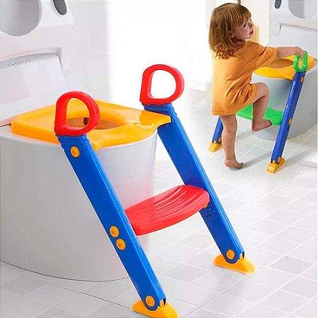 Assento Redutor Dican Com Escada Toilet Training + Brinde