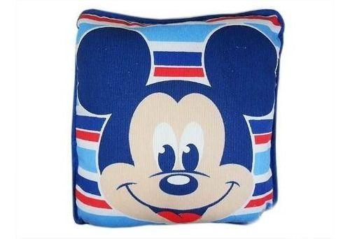 Travesseiro Disney Mickey listrado Azul