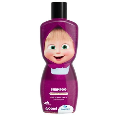Shampoo infantil marsha e o urso 400ml neutrocare