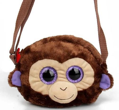 Bolsa Pelucia Ty - Macaco Coconut DTC