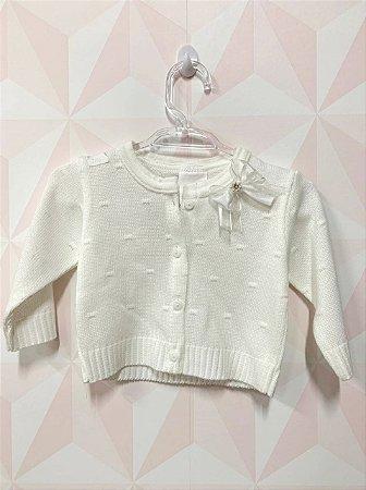 Casaquinho de trico - Cissa baby - Tam P