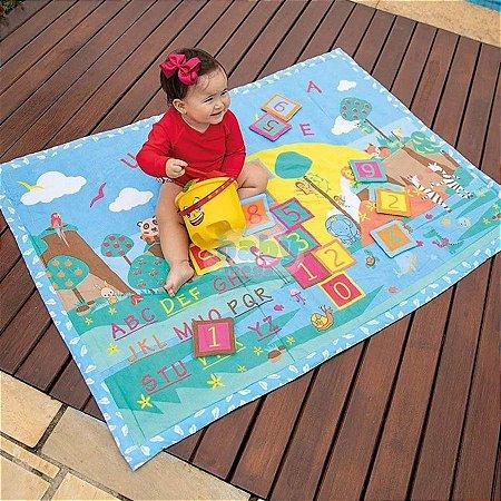 Tapete De Brincar Funny Estampado - Baby Joy