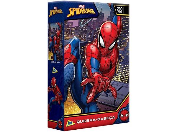 Quebra-cabeça 200 Peças Spider Man