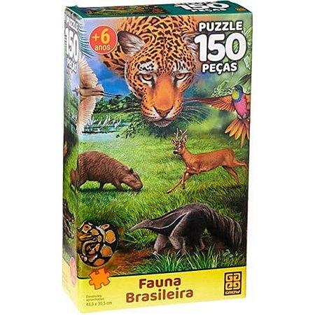 Quebra Cabeça P150 FAUNA BRASILEIRA - 3568