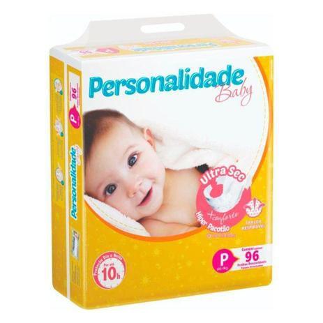 Fralda Descartável Personalidade Ultra Sec P C/96