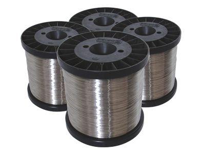 Fio de Aço Inox para Cerca Elétrica - 0,45mm / 0,60mm / 0,70mm / 0,90mm / 1,20mm