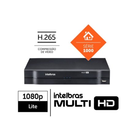 DVR Intelbras 4 Canais Multi HD - MHDX 1104