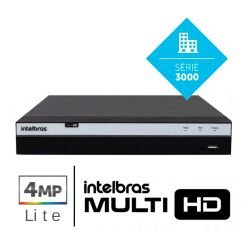 DVR Intelbras 4 Canais Multi HD Full HD - MHDX 3104