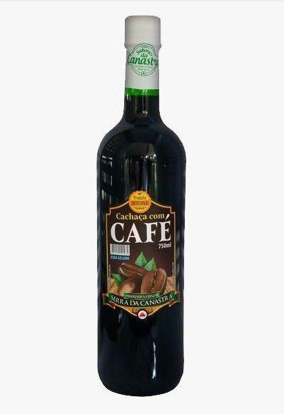 Cachaça Vale da Canastra com Café - 750 ml