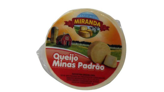 Queijo Minas Padrão - Miranda (Peso Médio 0,500 Kg)