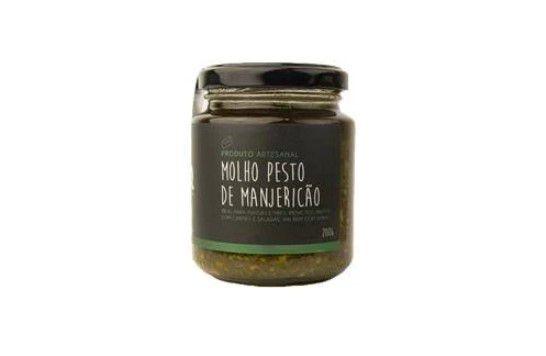 Molho Pesto de Manjericão Gaia 200 Gr