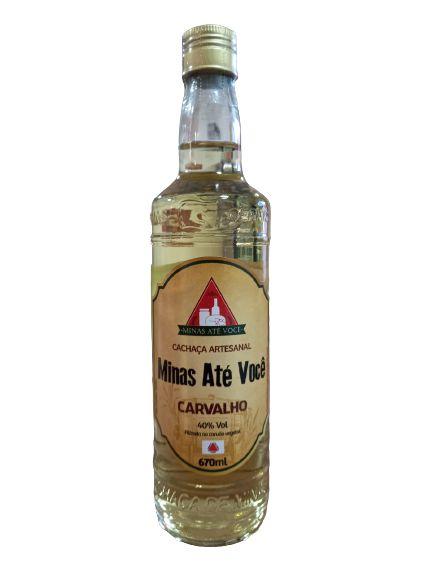 Cachaça Artesanal Minas Até Você - Carvalho 670 ml