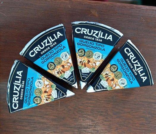 Queijo Gorgonzola - Cruzilia (Peso Médio 200 Gr)