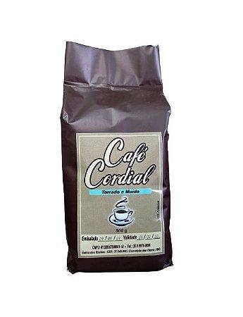 Café Torrado e Moído - Cordial 500 Gr - 100% Arábica