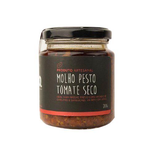 Molho Pesto de Tomate Seco Gaia 200 Gr