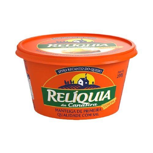 Manteiga Relíquia da Canastra com Sal - 200 Gr