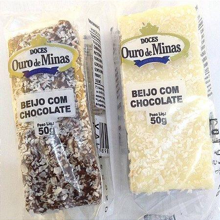Doce Beijo com Chocolate-  Unidade