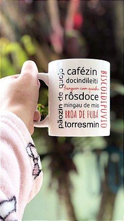 Caneca de Café 325 ml - Biscoidipuvio