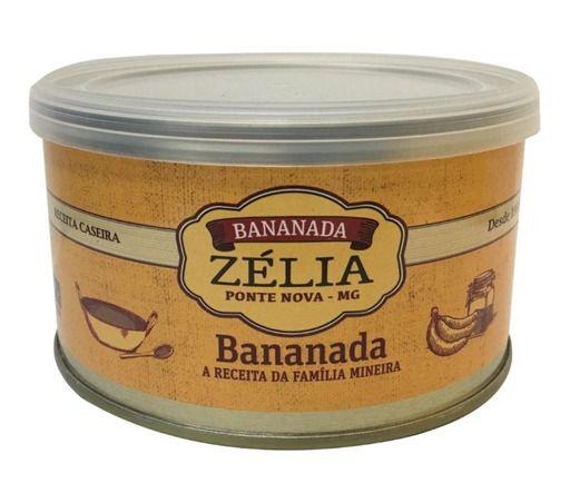 Bananada Zelia - Lata 400 GR