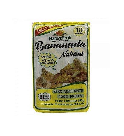 Bananada sem açúcar 250 Gr - com 10 Unidades