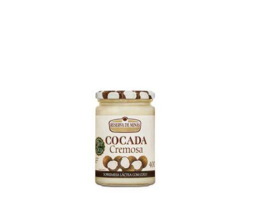 Cocada Cremosa Premium - Reserva de Minas - 400 GR