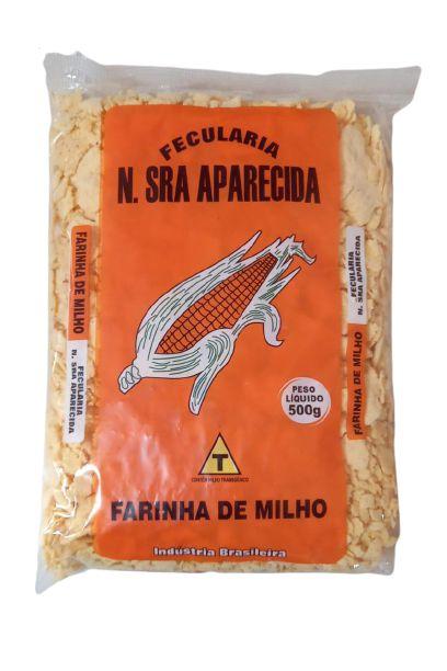 Farinha de Milho em Flocos 0,500 Gr