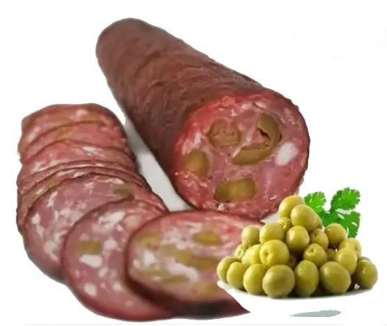 Salame Nobre com Azeitona - Vila Caipira 450 Gr