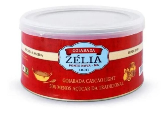 Goiabada Lata Light - Zélia 400 Gr