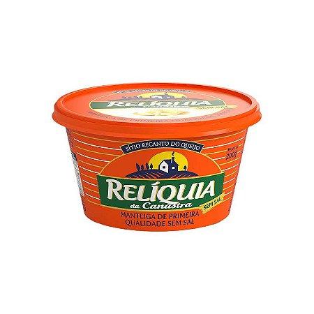 Manteiga Relíquia da Canastra sem Sal - 200 Gr