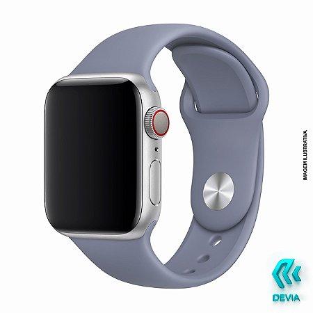 Pulseira Apple Watch Silicone 40mm Lavender Devia