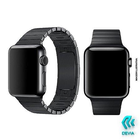Pulseira Apple Watch Metal 40mm Black Devia