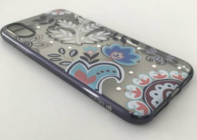 Capa iPhone X Devia 489-BK