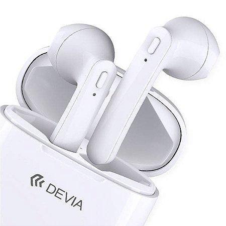 Earphones Wireless Smart White Devia