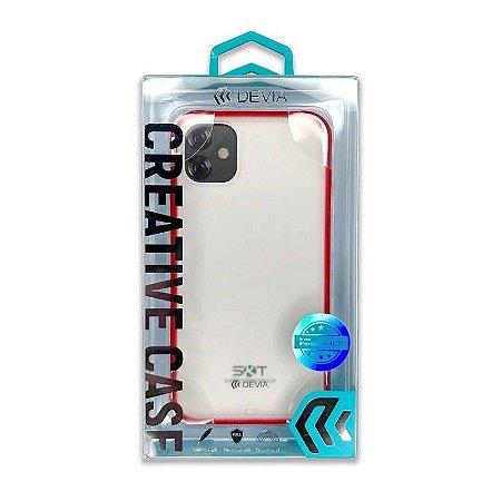 Capa iPhone 11 Soft Elegant Red