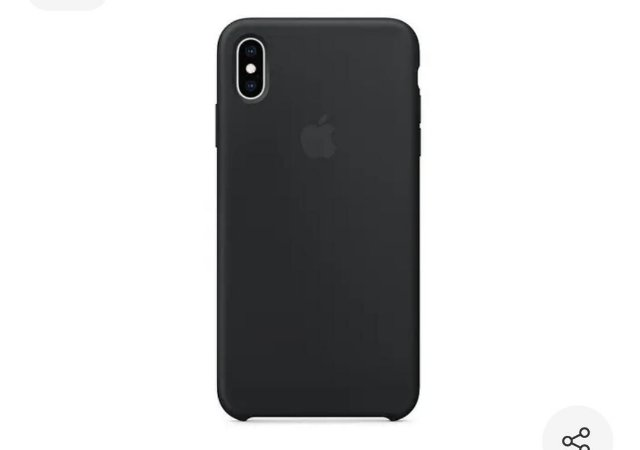 Capa iPhone XS Max Silicone