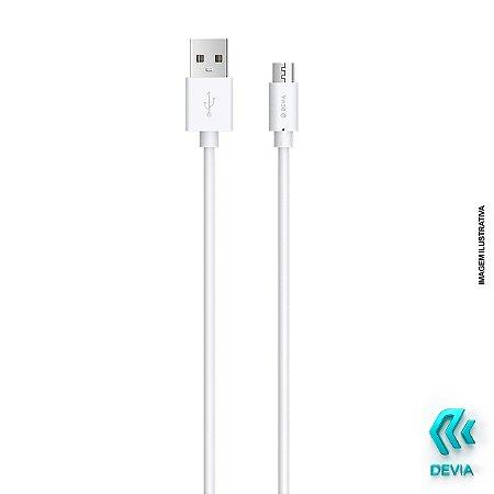 Cabo Kintone Micro-USB (V8) 1m Branco