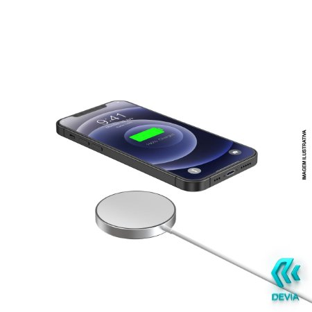 Carregador Magnético Wireless iPhone 12 Mini Pro Promax