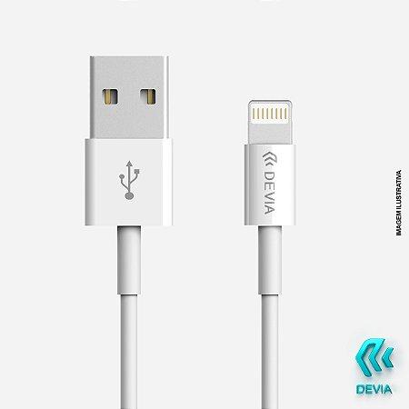 Cabo Smart Lightning Devia iPhone Type-C 1m Branco 20w