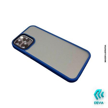 Capa Anti Choque Azul Devia iPhone 12 Pro Max Joy Elegant