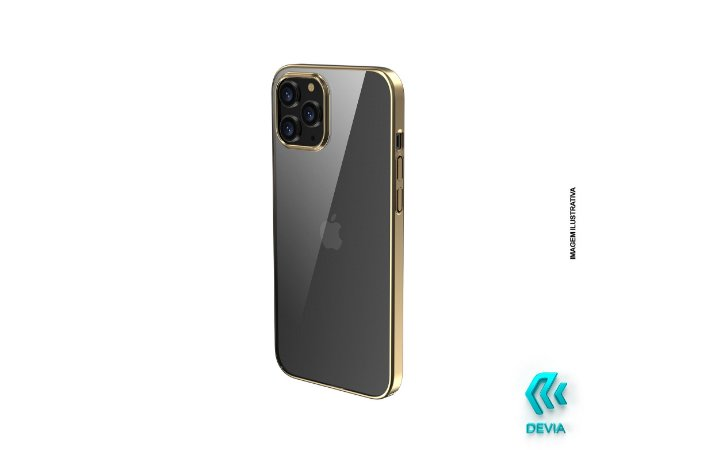 Capa Para iPhone 12 Pro Glimmer Devia Dourada