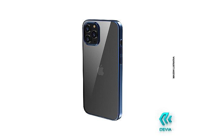 Capa Para iPhone 12 Pro Glimmer Devia Azul